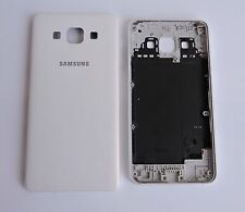 GENUINE Original Replacement Battery Door Back Cover Case for Samsung A3 (WHITE)