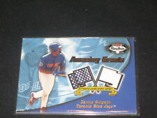 Carlos Delgado Jays Legend Certified Authentic Baseball Game Used Jersey Card