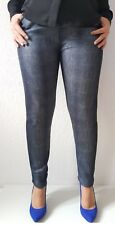 Leggins Gr.40-52Jeans Optik Damen Warme Hose Fell Winterleggins Leggings Thermo