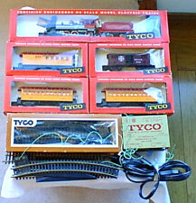 DISNEYLAND & SANTE FE HO Tyco Mantua Train SET Unusd Loco Cars Boxes 1966 Disney