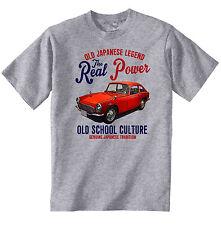 Vintage japonés Coche Honda S600 Coupe-Nuevo Algodón Camiseta