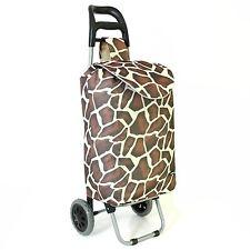 Super Light Large Wheeled Food Groceries Shopping Lightweight Trolley Bag Case