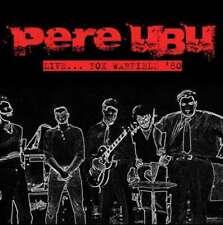 Pere Ubu - Live…fox Warfield '80 NEW CD