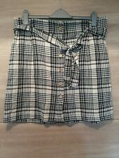 New Look Check Skirt Size 16 New With Tags