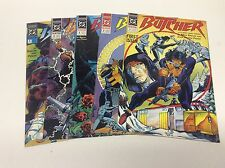 THE BUTCHER #1-5 (DC/1990/BARON/PENSA/1216124) COMPLETE SET LOT OF 5