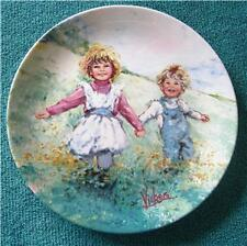 Wedgwood/Mary Vickers Ltd Ed Plate: Child's PLAY TIME