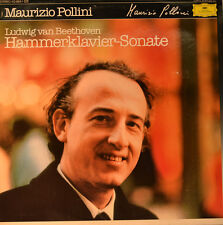 """Beethoven-Hammer pianoforte-SONATA-Maurizio Pollini 12"""" LP (l256)"""