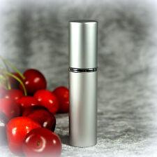 Parfum TASCHENZERSTÄUBER Atomizer silber 5 ml + 3 Parfumproben zum testen - NEU