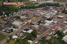 Aerial View of Franklin, North Carolina, Gem + Mineral Museum, Jail --- Postcard
