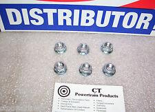 Ford Lincoln Mercury New Converter Nut 6 Piece Kit Standard Thread C4 C6 FMX FM2