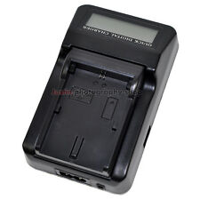 LCD Mains Battery Charger LPE6 LP-E6N LC-E6E for Canon 70D 80D 5D 6D 7D Mark 2