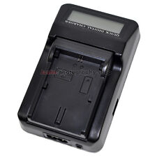 LCD Single Battery Charger LP-E6 LP-E6N LC-E6E for Canon 5D 6D 7D Mark 2/3 80D