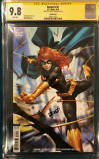 DERRICK CHEW CGC 9.8 Signed BATGIRL #32 BATMAN JOKER not CBCS