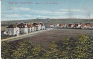 Ansichtskarte Sachsen  Gruß aus Niedersedlitz  Lugaerstr.  mit Koloniehäuser