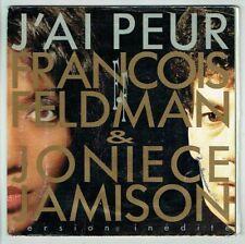 François FELDMAN & Joniece JAMISON Vinyle 45T J'AI PEUR Poster