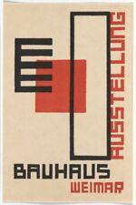 A3 Size - 1923 GERMAN WEIMAR BAUHAUS ART EXHIBITION  WALL DECOR ART PRINT POSTER