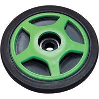 "Rear Suspension 6.375"" x .75 Green Idler Wheel Arctic Cat ZR ZRT ZL Z WildCat"
