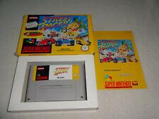 Street Racer Super Nintendo SNES Spiel mit OVP und Anleitung