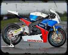 Equipo Honda TT Legends 5 A4 Foto Impresión moto antigua añejada De