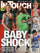 ANGELINA JOLIE In Touch Weekly Magazine October 1, 2007 JENNIFER LOPEZ A-1-3