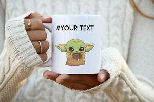 Yoda Best Mug Baby Green Alien Mug Gift For Him Gift For Her Yoda Gifts Cute