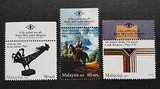 2011 Malaysia Treasures of Nation Visual Arts 3v Stamps Set (art gallery tabs)