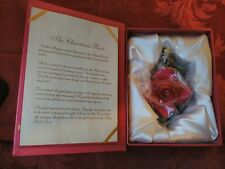 Holiday Traditions Roman Inc The Christmas Rose Collectible