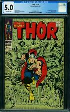 THOR 154 CGC 5.0 OWP NICE 1968 HALF PAGE ADD FOR SILVER SURFER 1 1ST MANGOG A7