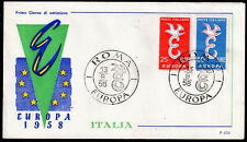 EUROPA CEPT FDC 1958 ITALIE 3