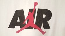 Vintage Air Jordan PRE-OWNED Size XXL White T-Shirt