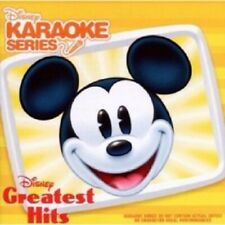 DISNEY KARAOKE SERIES: GREATEST HITS  CD 16 TRACKS INTERNATIONAL POP KARAOKE NEU