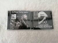 Lady Gaga 2xCD audio album bundle-Born This Way-The Fame Monster double album go