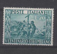 FRANCOBOLLI - 1951 REPUBBLICA COLOMBO L.20 MNH Z/8265