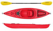 Seaflo Kajak inkl. Paddel, Angelboot, Kanu, Kayak, 1004 rot *NEU*