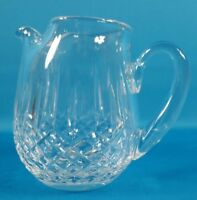 "Waterford Crystal Lismore 6"" Ice Lip Pitcher"
