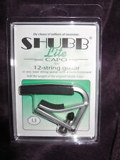 Shubb L3 Lite Capo For 12 String Guitar or wide fretboard guitars New