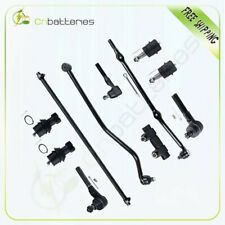 11pc Front Sway Bars Tie Rods Ball Joints Kit For 1993-1998 Jeep Grand Cherokee