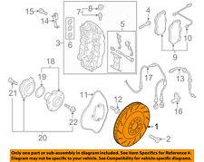 Piezas para coche Rotores de disco de freno BORG & BECK BBD6126S