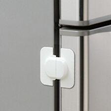 White Fridge Guard Refrigerator Door Latch Baby Safety Child Lock