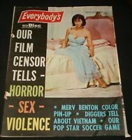 EVERYBODYS 1960s MOD BEAT MAG TONY BARBER NANCY SINATRA ROLLER GAME BEWITCHED