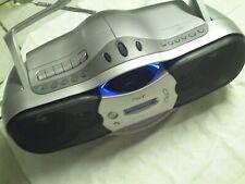 SONY Tragbarer Stereo Radio LW/AM/FM CD Cassetten Recorder CFD-F10L Boombox
