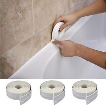 Polycell Bath Shower Kitchen Toilet Wall Sealing Sealant Strip L Shape Seal Tape
