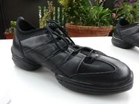 DIAMANT Damen Schuhe Tanzschuhe Leder Textil Schwarz Germany Gr.39(6) Neuw