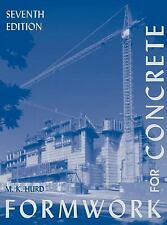 Formwork for Concrete Hardcover M. K. Hurd