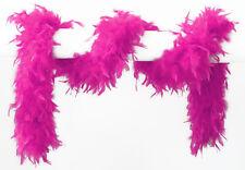 Federschal Federboa neon-pink 180cm NEU - Zubehör Accessoire Karneval Fasching