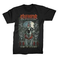 KREATOR cd lgo ARMY OF STORMS Official SHIRT MED New gods of violence