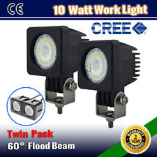 2PCS 10W CREE LED FLOOD BEAM DRIVING OFFROAD  SPOT WORK LIGHT BAR WD-18W/36W/72W