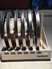 Cuisinart Set of 6-Disc Blades & Holder Dlc-7 Slicer Blades