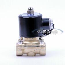"""Elektro-Magnetventil 24V DC 1/2"""" Wasser/Luft/Gas/Diesel NEU"""