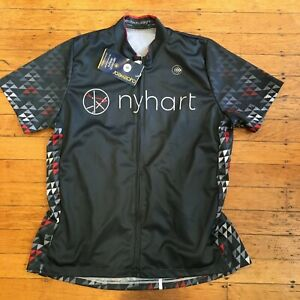 NWT Aero Tech Designs Cyclewear Cycling Jersey Men's Small 100% Polyester